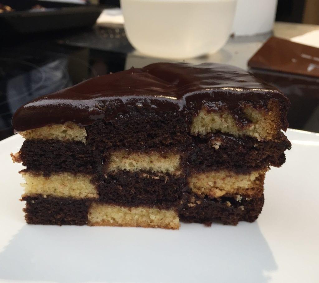 Pastel de chocolate taller de repostería