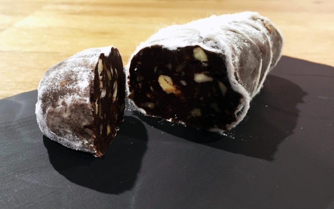 Ideas de trampantojos: receta de morcilla de chocolate