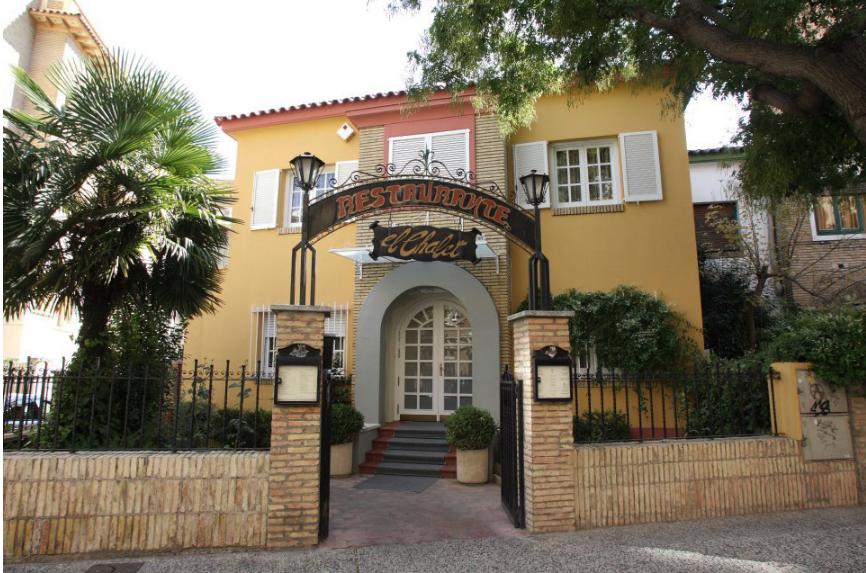 Restaurantes románticos en Zaragoza: El Chalet
