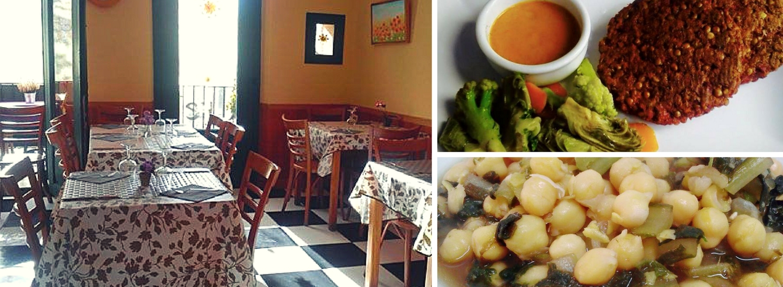 En La Retama fueron pioneros en esto de los restaurantes vegetarianos en Zaragoza.