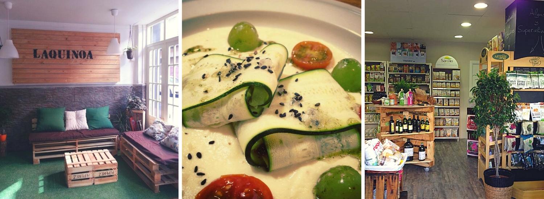 La Quinoa es una de las últimas incorporaciones de restaurantes vegetarianos en Zaragoza.