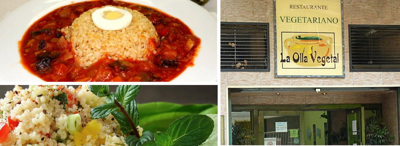La olla vegetal es un restaurante económico autoservicio.