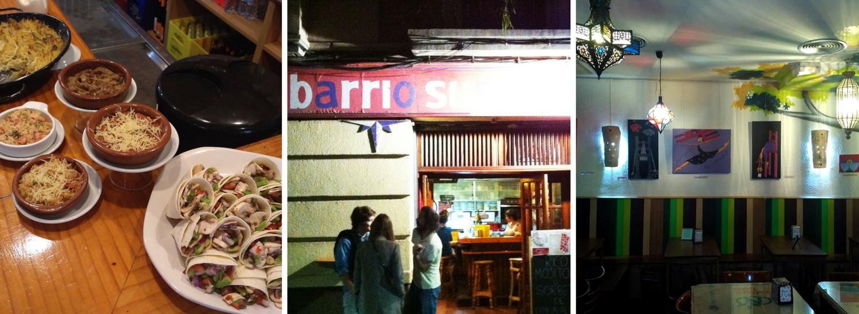 En Barrio Sur encontrarás un ambiente diferente y buenos cócteles.
