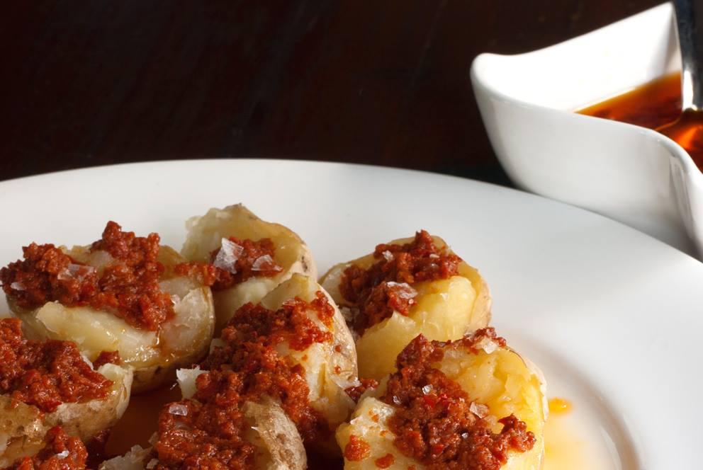 Patatas bravas, La Papa Arrugá