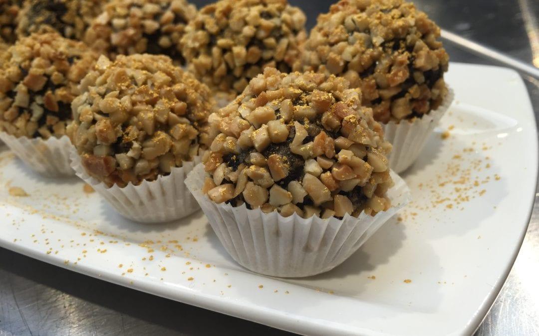 Tapas originales: receta de bombones de morcilla