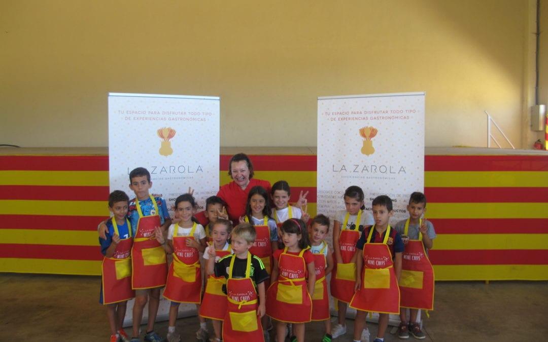La Zarola realizará actividades gastronómicas por los pueblos de Aragón