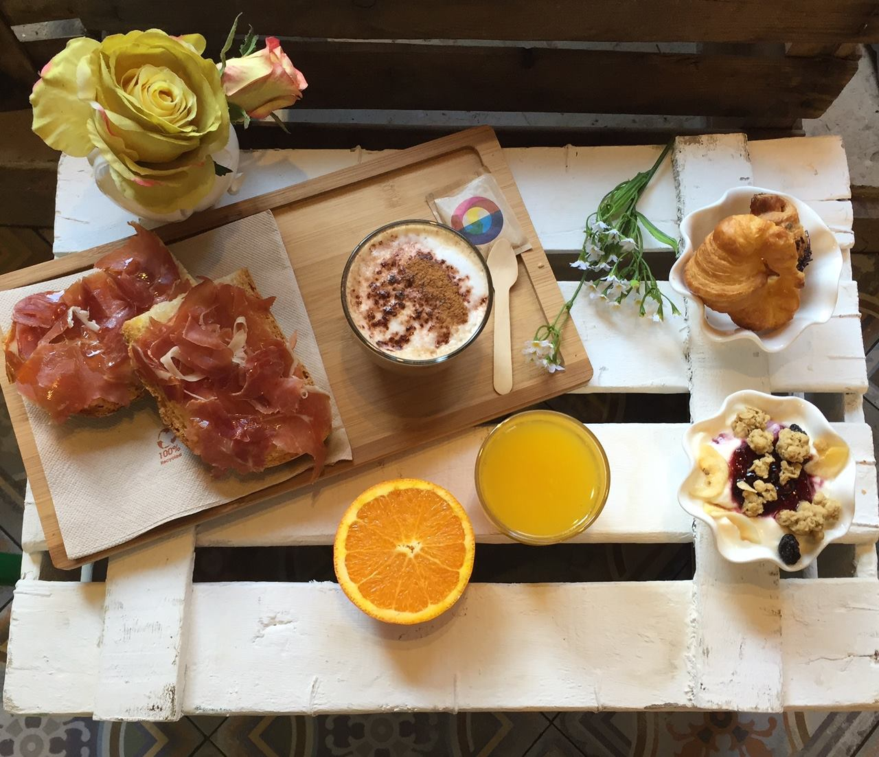 'brunch' en Zaragoza
