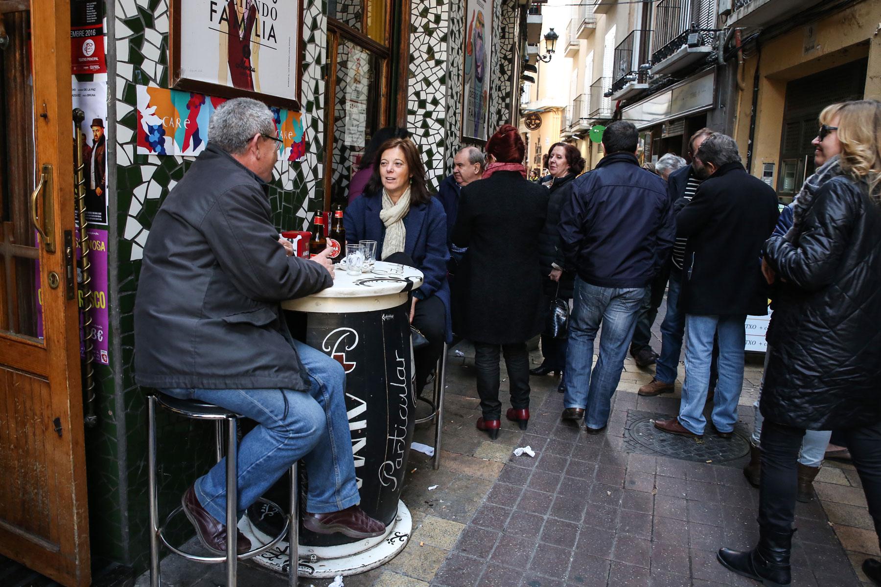 pinchos en Zaragoza