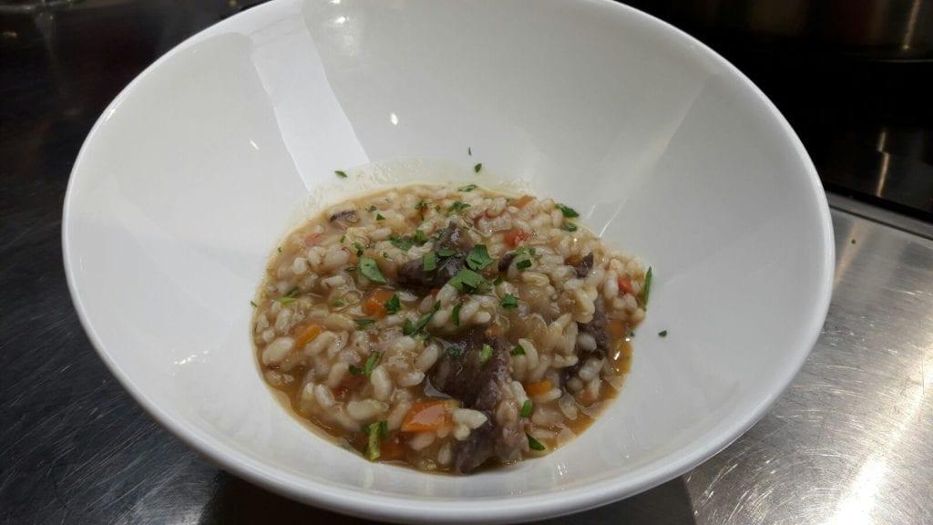 receta de arroz caldoso con carrilleras