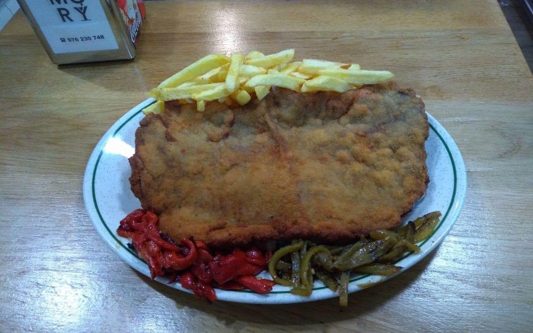 Cinco restaurantes donde comer un delicioso cachopo asturiano en Zaragoza