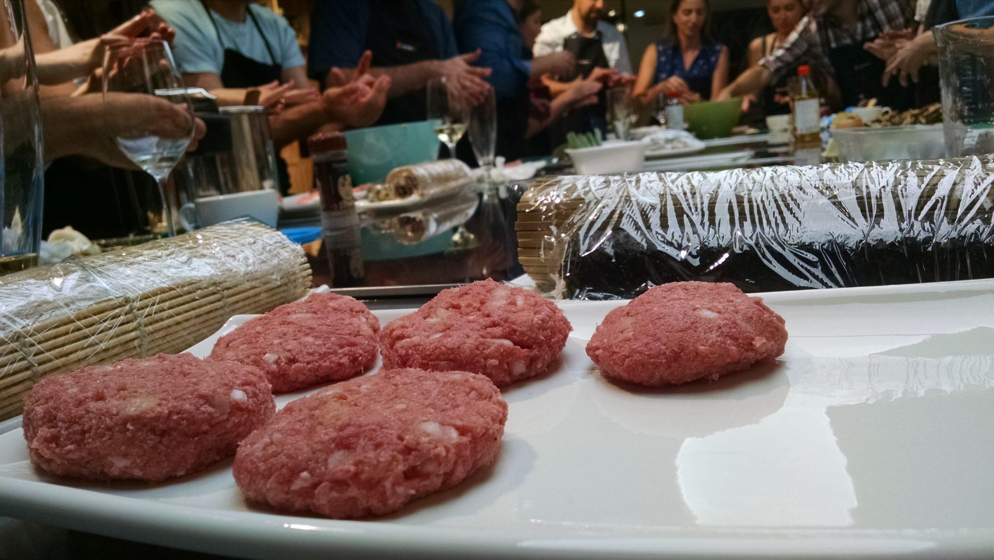 hamburguesas de jenjibre