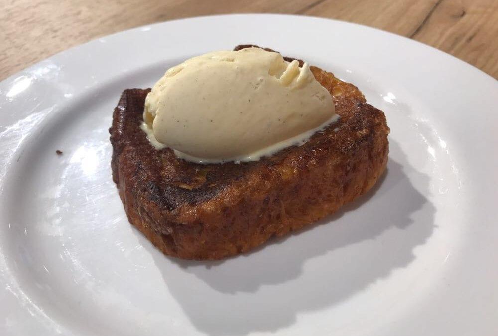 Deliciosa receta de torrijas de brioche a la vainilla