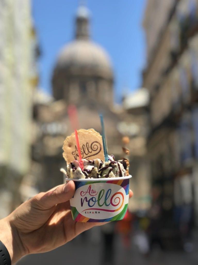 heladerías en Zaragoza