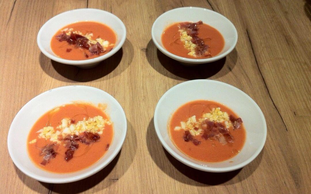 Deliciosa y fresquita receta de salmorejo