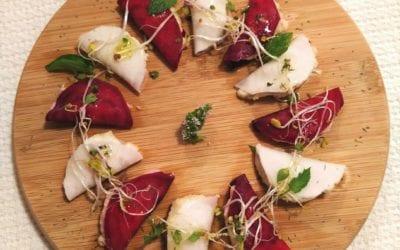 Receta: Medias lunas de queso crema vegetal