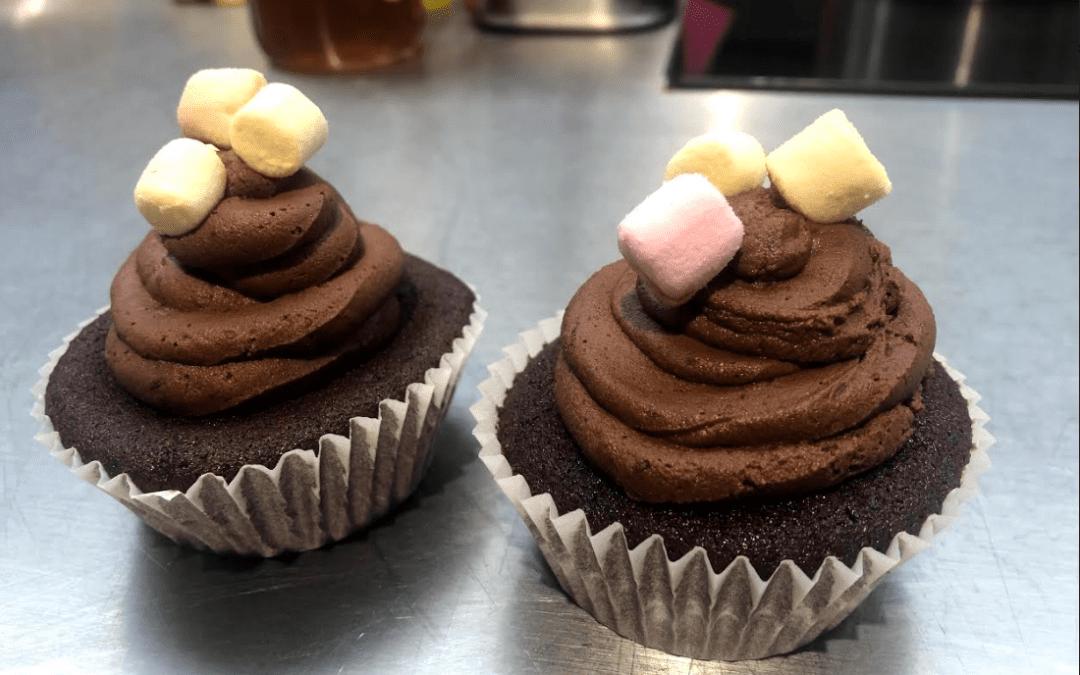 Receta de deliciosos cupcakes de cacao