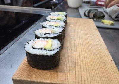 Iniciación al sushi
