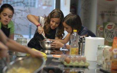 Vuelven los campus de cocina de verano para niños y adolescentes en La Zarola