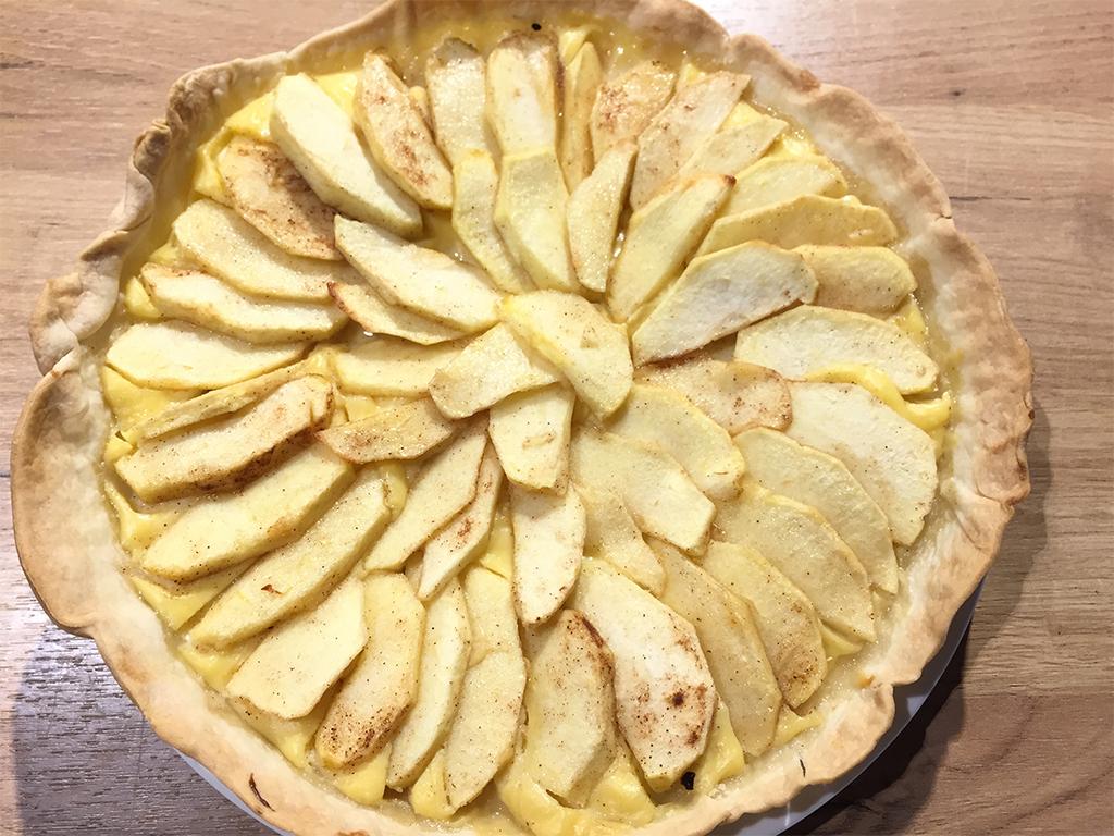 recetas-de-tarta-de-manzana-con-crema-pastelera